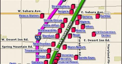 las vegas strip  map gif 509x267